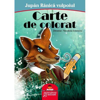 Jupan Ranica vulpoiul - carte de colorat